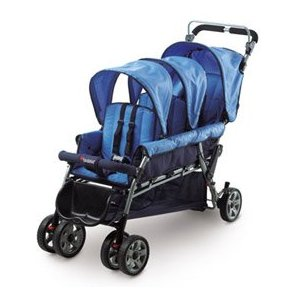 Trio Triple Tandem Stroller Review